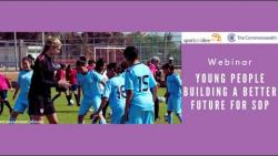 Webinar: Young people building a better future for SDP