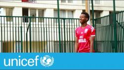 How a Parisian football team is giving young migrants a new lease on life | UNICEF