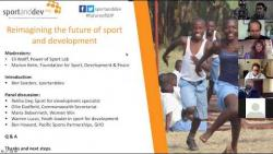 Webinar: Reimagining the future of sport and development