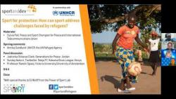 Webinar: Sport for protection: How can sport address challenges faced by refugees?
