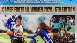 Women playing American football in Cameroon