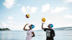 Female water polo players in Vanuatu are #EachforEqual thanks to the PSP swimming program (Oceania Swimming Association)