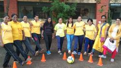A group of female coaches in India