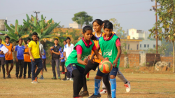 mixed gender netball in India