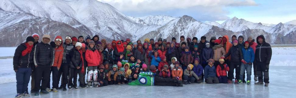 The Hockey Foundation Pangong Tso